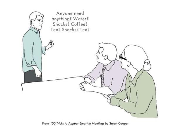 회의 시간에 똑똑해보이는법 9가지